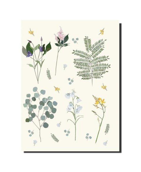 C6 Notebook 6x8 Botanical
