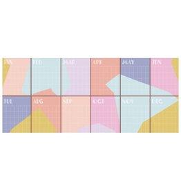 HeyMaca Perpetual Wall Calendar