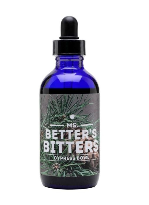 Ms Better's bitters Cypress Bowl Bitters