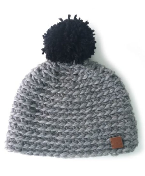 Wool Tuque with Pompom