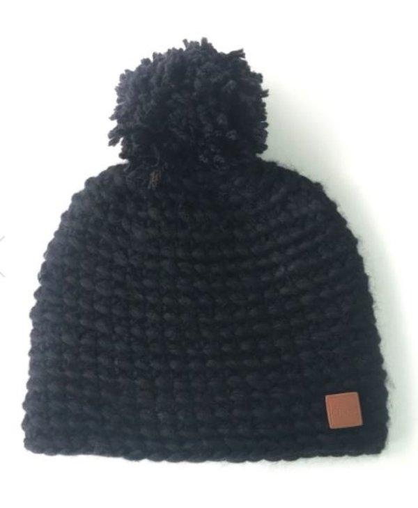 Tuque pompom de laine