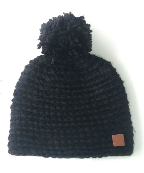 Gibou Wool Tuque with Pompom