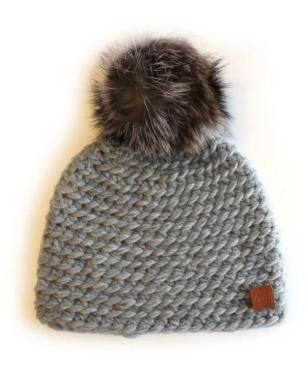 Classic Racoon Tuque with Fleece Lining