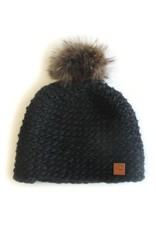 Gibou Classic Racoon Tuque with Fleece Lining