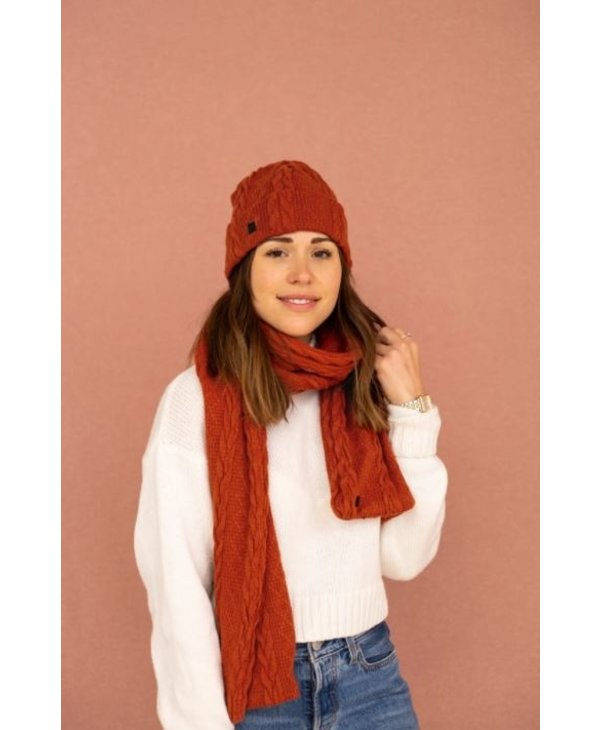 Braided Knit Tuque