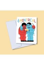 Vincent Toutou Montreal Greeting Card