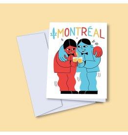 Vincent Toutou carte de souh.  Montreal