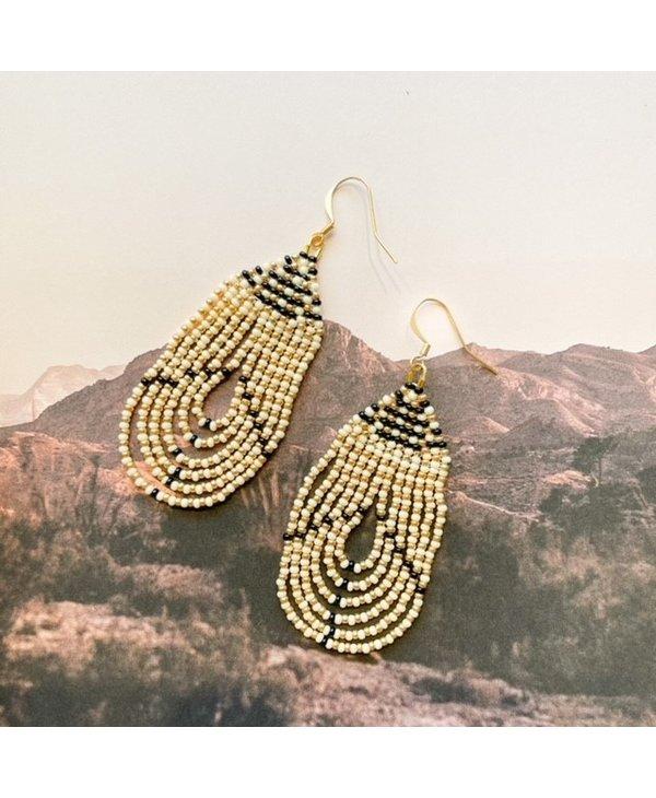 Champagne Loop Earrings 18705