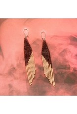 La Gordita Pink Long Drop Earrings 18712