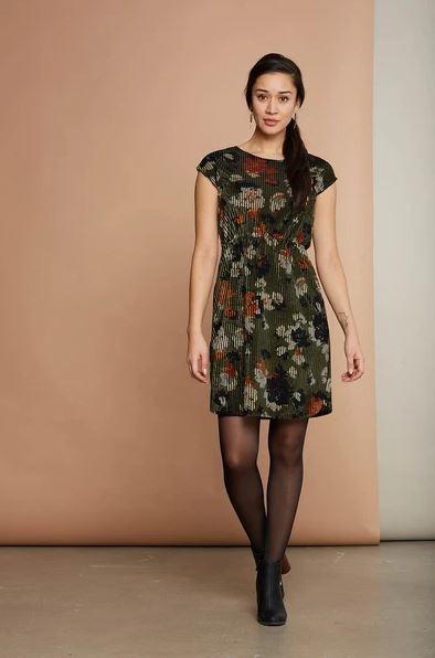 Cherry Bobin Camellia Dress - 2 colors
