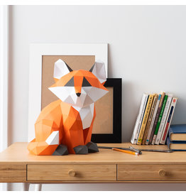 Sofs 3D Paper Model - Baby Fox