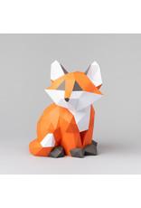 Sofs Modèle papier 3D - Bébé Renard