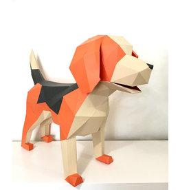 Sofs Modèle Papier 3D - Beagle