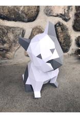 Sofs Modèle papier 3D - Chiot