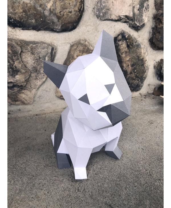 3D Model Paper - Puppy