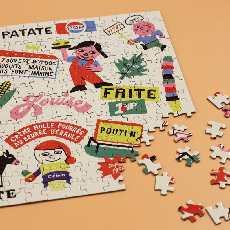 Vincent Toutou Roadside Qc puzzle