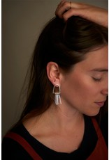 La Manufacture Leo Earrings Silver