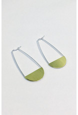La Manufacture Therese Earrings Brass