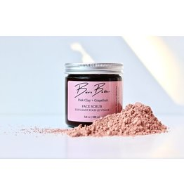 Bees Butter Pink Clay Grapefruit Scrub