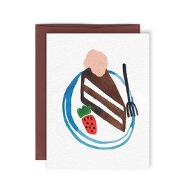 Paperole Carte Gâteau au chocolat