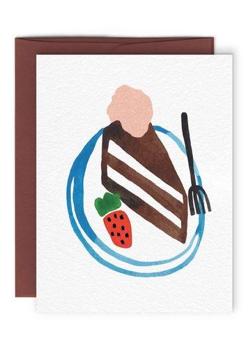 Carte Gâteau au chocolat