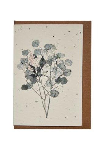 Carte ensemencée -- Botanique