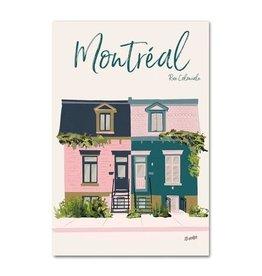 Lili Graffiti Carte postale - Rue Coloniale