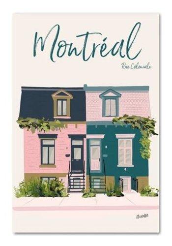 Postcard - Coloniale Street