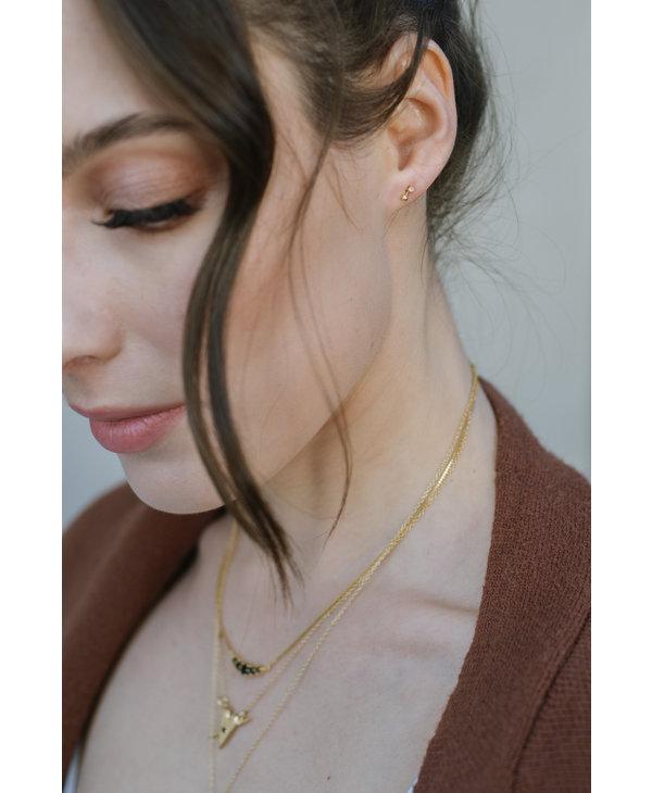 Boucles d'oreilles Rosa