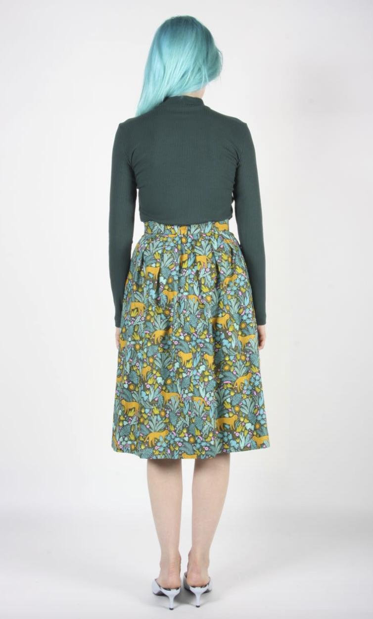 Birds of North America Tadorne Skirt