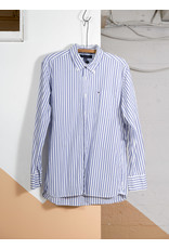Martha Blackler TH Striped Shirt White Blue