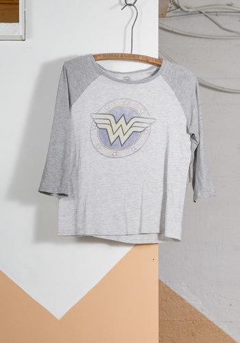 Wonder Woman 3/4 Tee