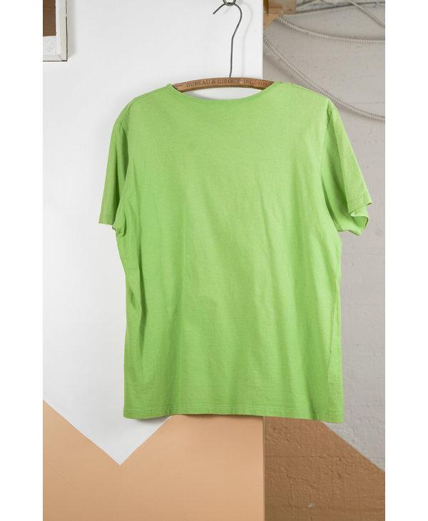 T-Shirt papillon vert