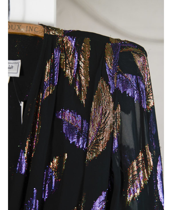 Glitter Leaf Dress