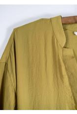 Robe voile citrine a ceinture