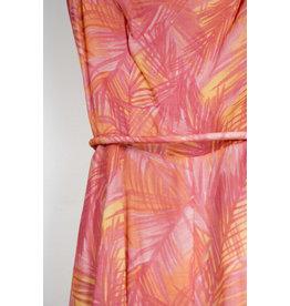 Lily Simon Dress Pink Tropical Print