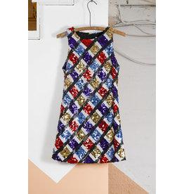 Short Multi Colour Sequin Dress