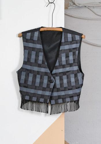 Woven Ribbon Vest