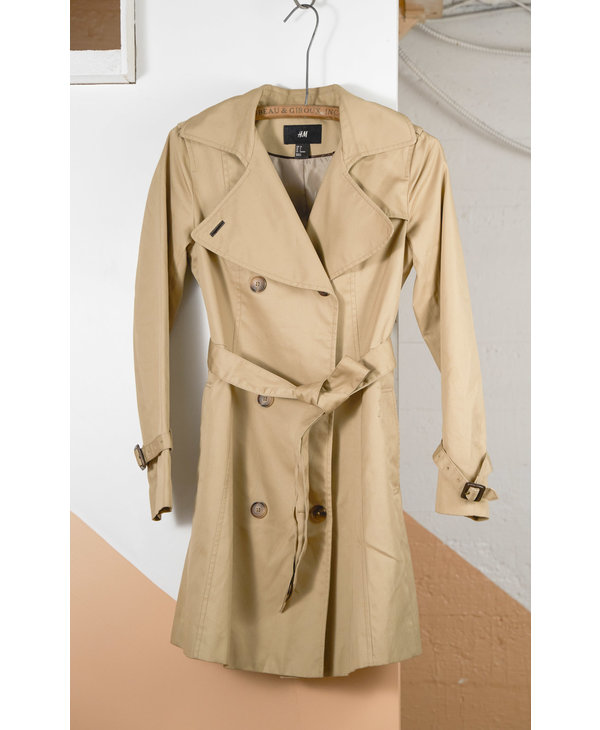 Tan H&M Trenchcoat