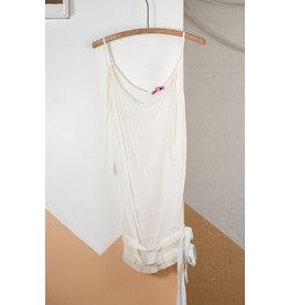 Cami mesh et ruban blanc