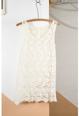 Ivory Crochet Tank