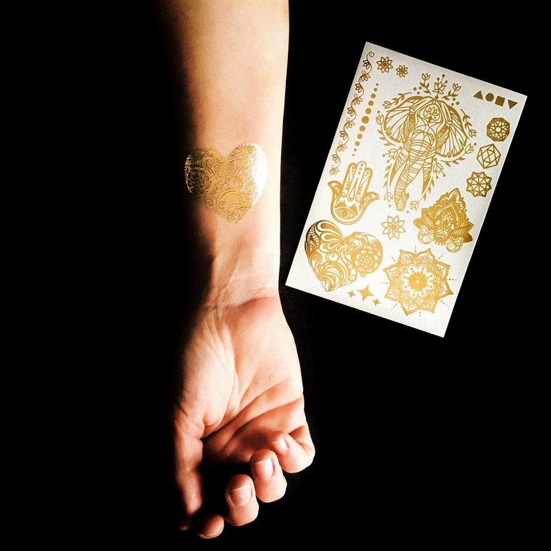 Les tatoués Cover yourself in gold