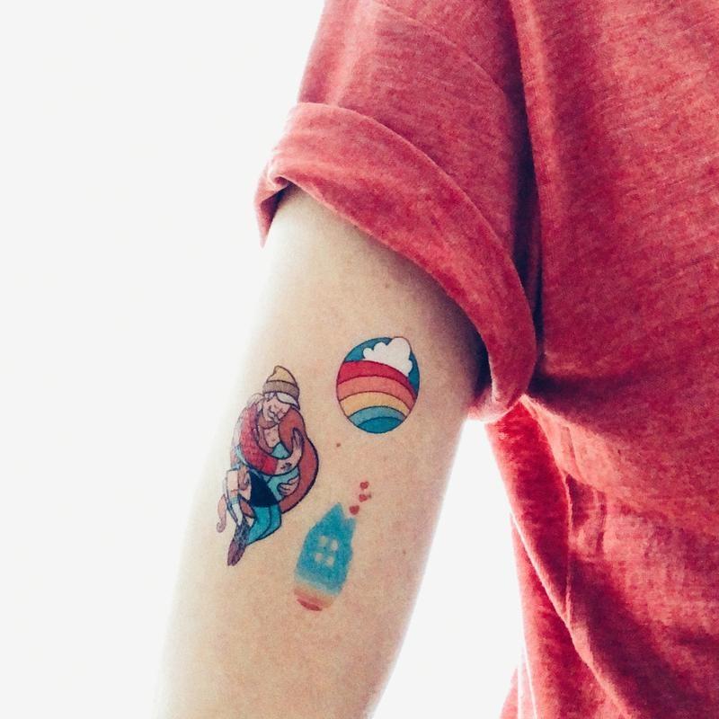 Les tatoués Les arcs-en-ciels