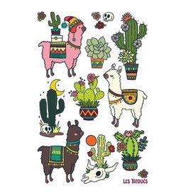 Les tatoués Des alpagas et des cactus