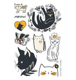 Les tatoués The kitty-cat