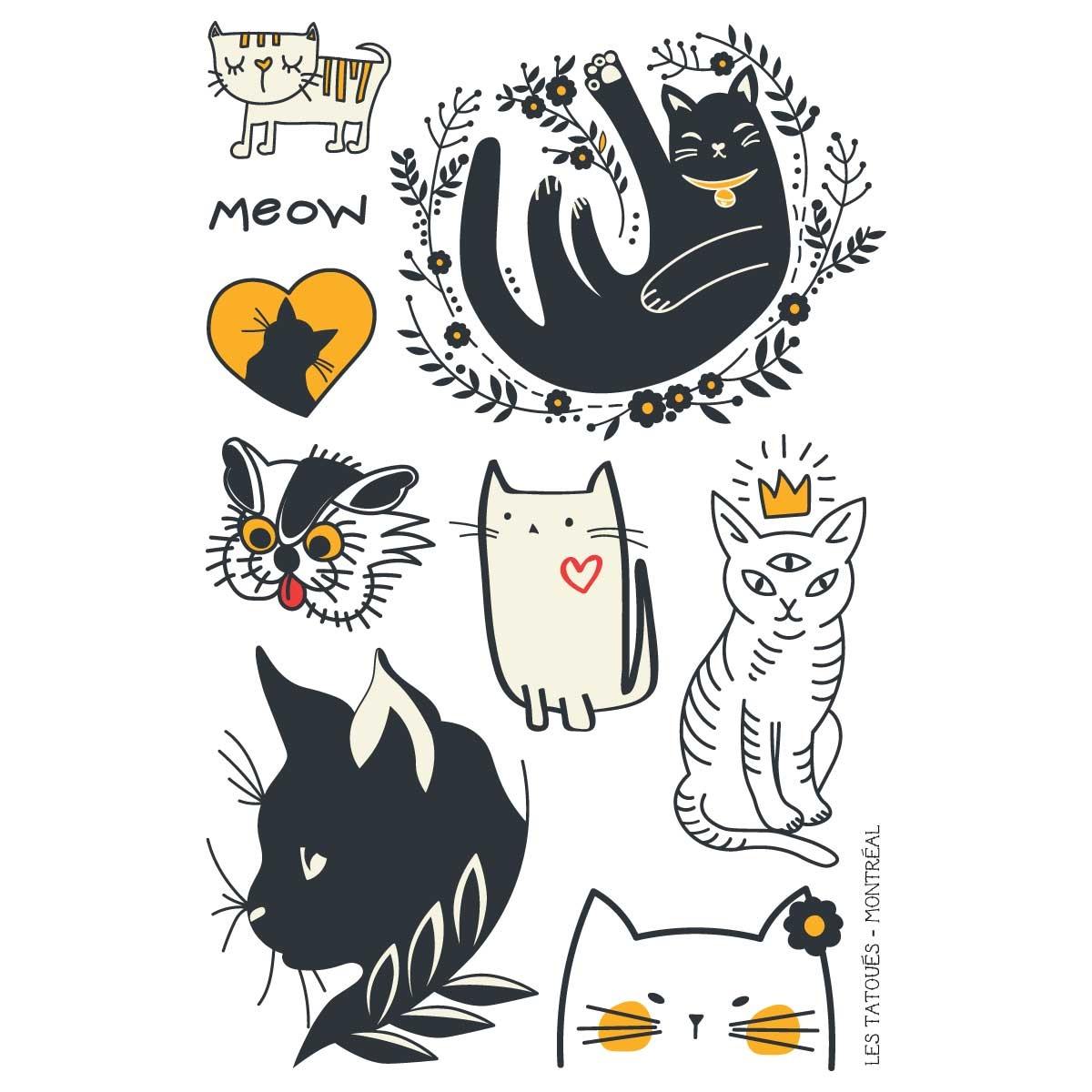Les tatoués Le petit chat
