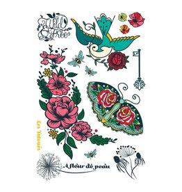 Les tatoués à fleur de peau