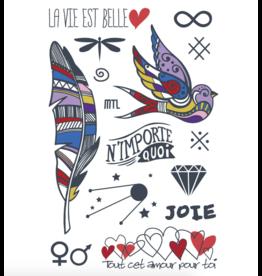 Les tatoués Featherweight Love