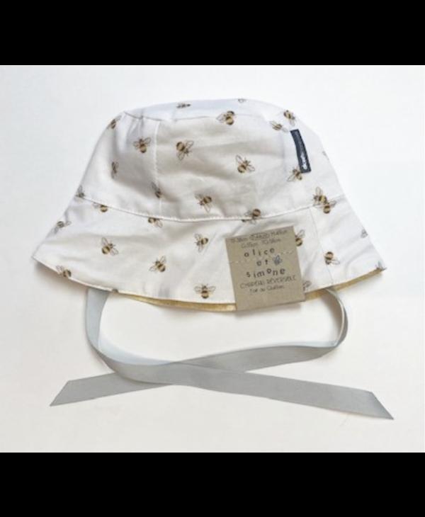 Chapeau réversible - 4 couleurs