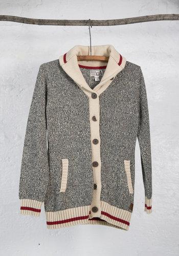 Veste tricot bas de laine